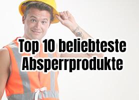 Die Top 10 beliebtesten Absperrprodukte