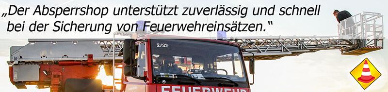 Feuerwehr Absperrshop