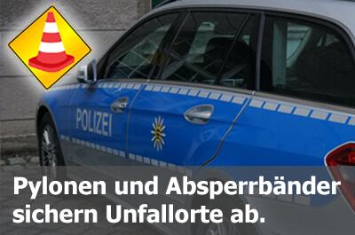 Wir beliefern die Polizei