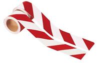 Rot Weiß gestreift