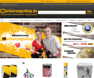 Screenshot Markierungsshop.de