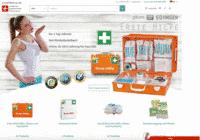 Erstehilfeshop.de - Screenshot